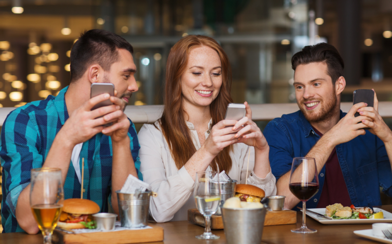 Features of Restaurant App