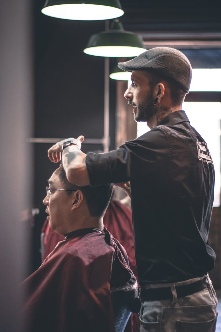 with a salon app, you can get haircuts at the comfort of your home