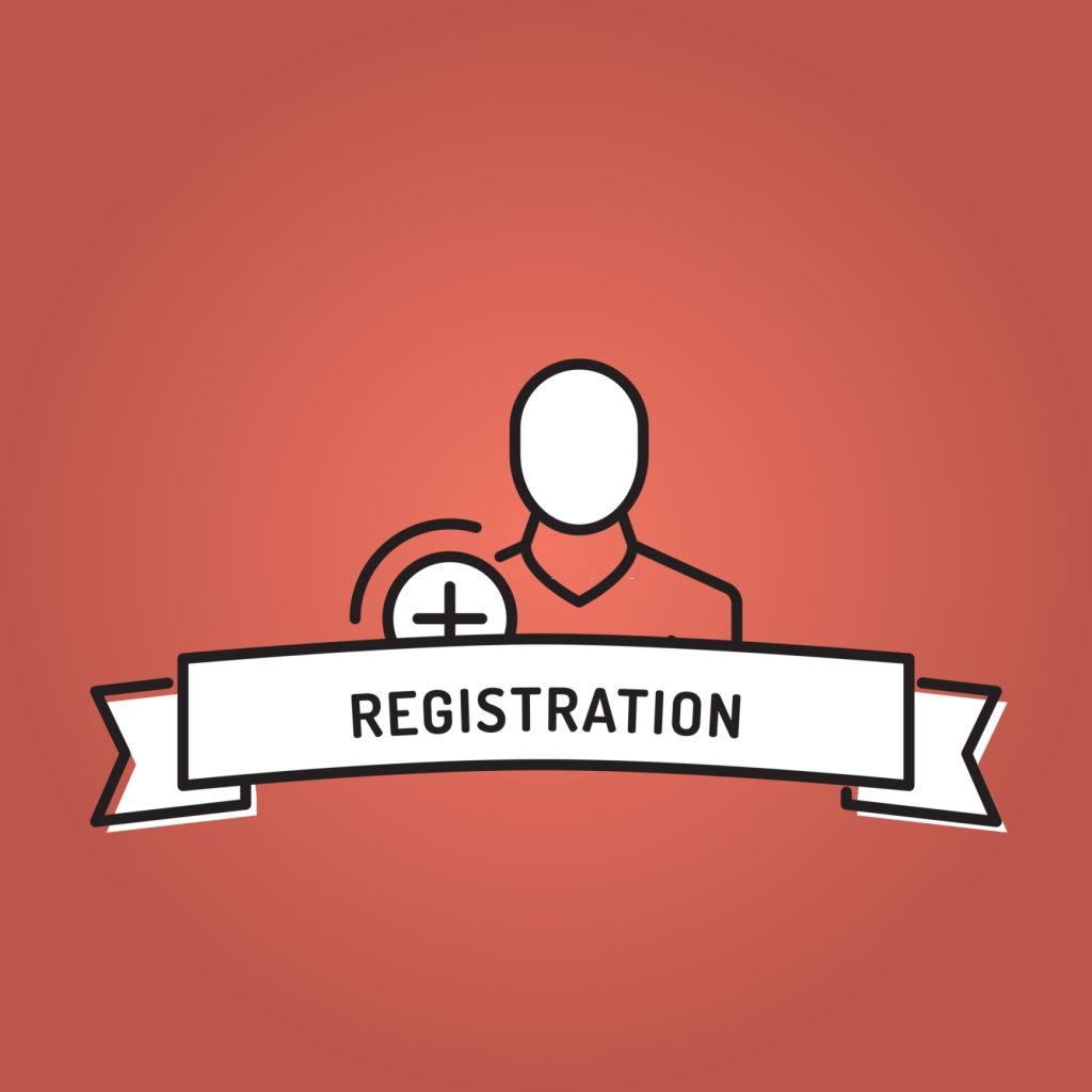 Easy registration on the medicine delivery app