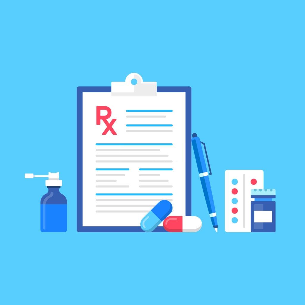 Prescription upload feature
