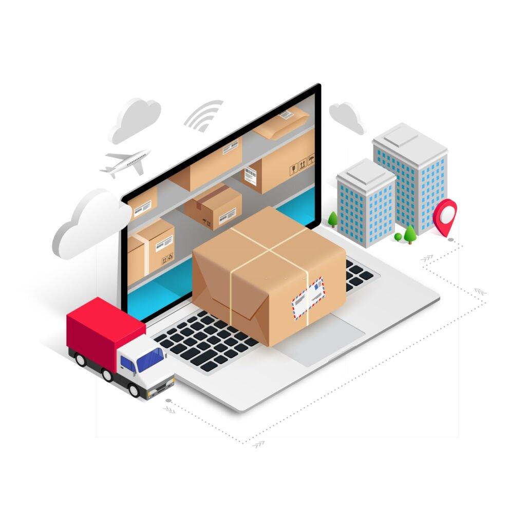 courier delivery app development features