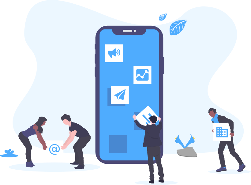 business marketing by mobile apps