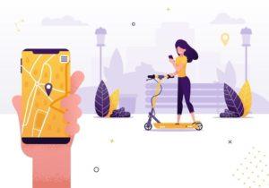 e bike sharing app