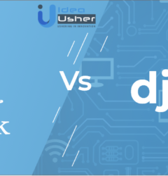 Django vs Flask both are excellent python Frameworks but which one is best for web development.