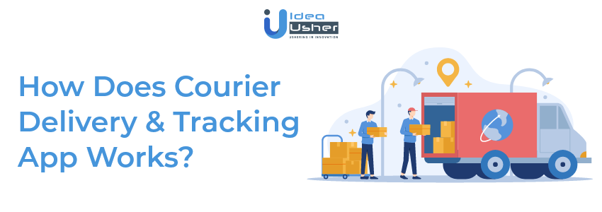 Who does Courier App work