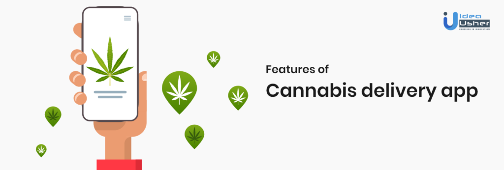 Features of Cannabis delivery app