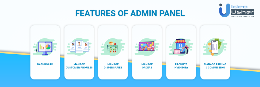 Features of Admin Panel