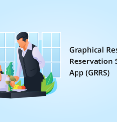graphical restaurant reservation system app
