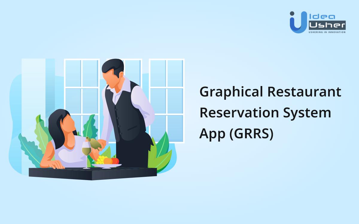 graphical restaurant reservation system app