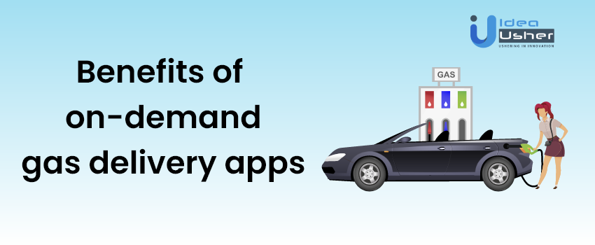 Benefits of gas filling app