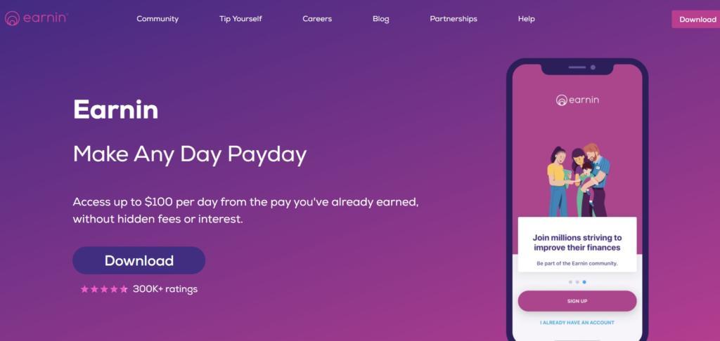 Earnin - Best Money Lending Apps