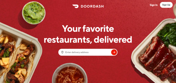 Food Delivery Apps - DoorDash