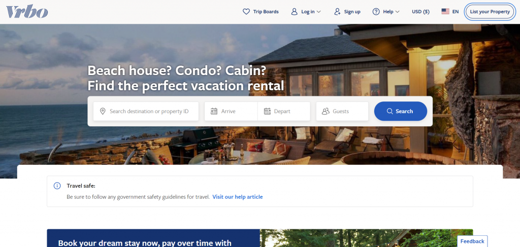 Apps like Airbnb