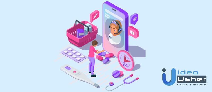 online pharmacy app development solutions features
