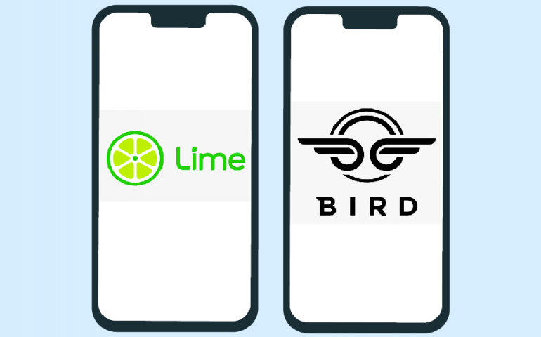 Bird Lime Scooter Bike Applications Cost Hours