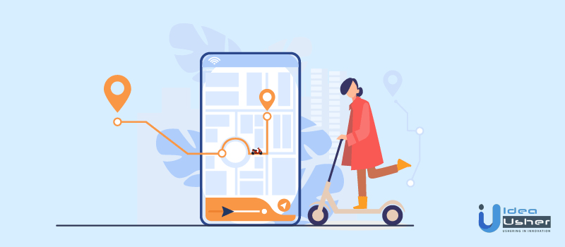 how to use e-scooter app
