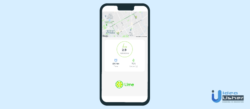 e-scooter app features