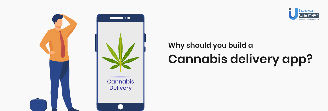 how do weed delivery services work