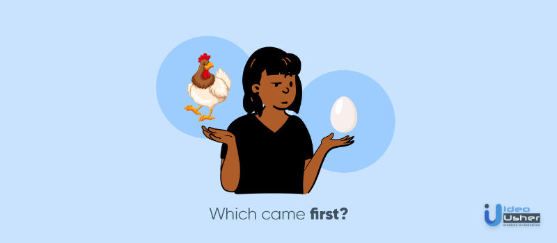 chicken and egg problem