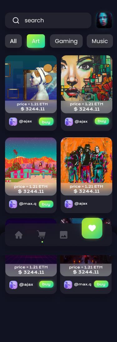nft app development