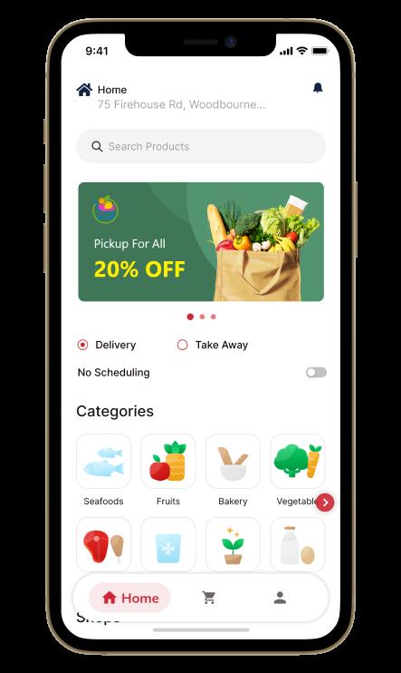 Supermarket delivery Application Development Company   Idea Usher  