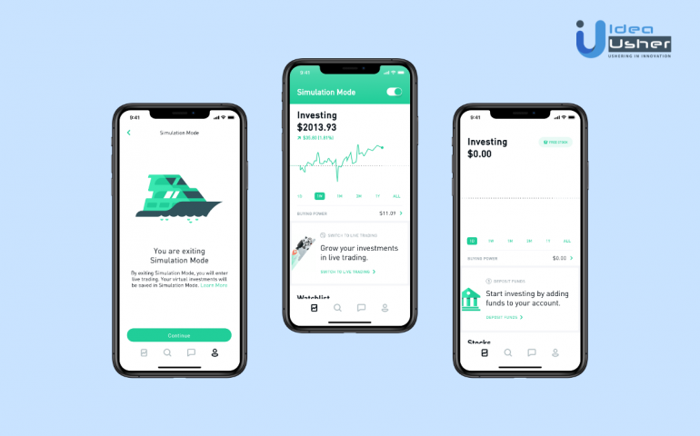 How to create an investing app