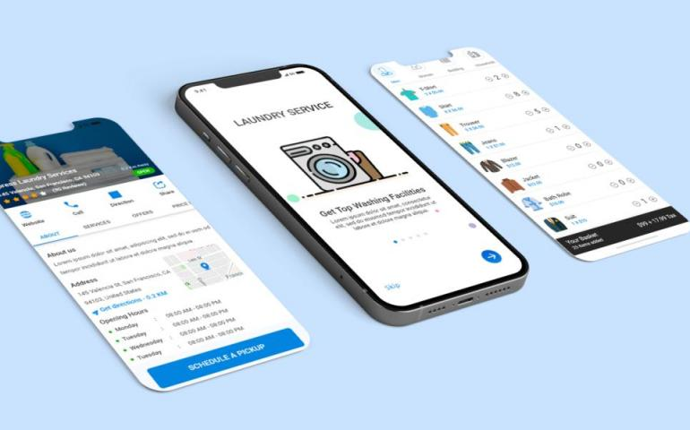 How to develop an on demand laundry mobile app like Rinse