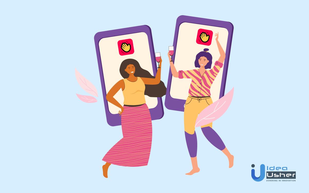 Develop app like Houseparty