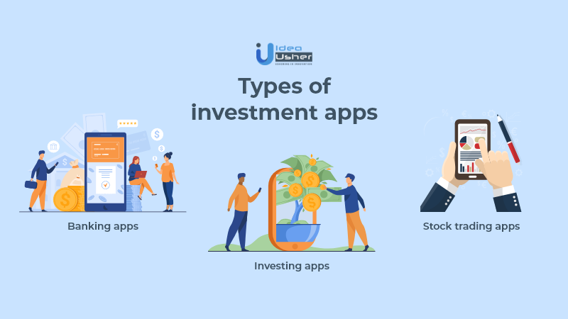 The three types of investment apps