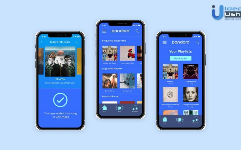 Music streaming app developement