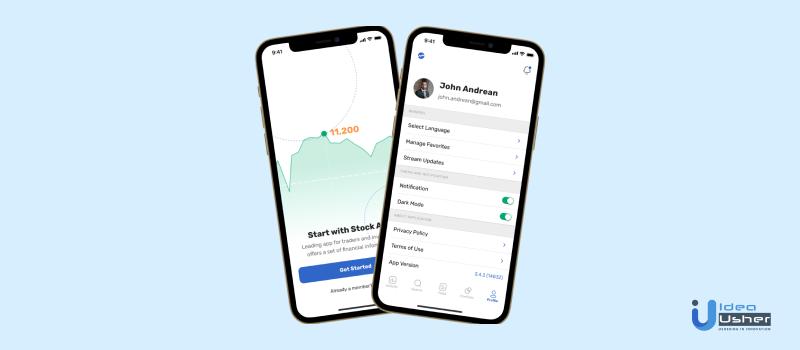 Stock-Trading-App-interface