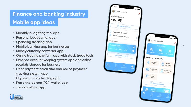 Finance Industry App Ideas