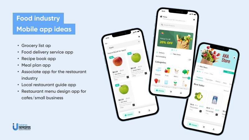 Food Industry app ideas