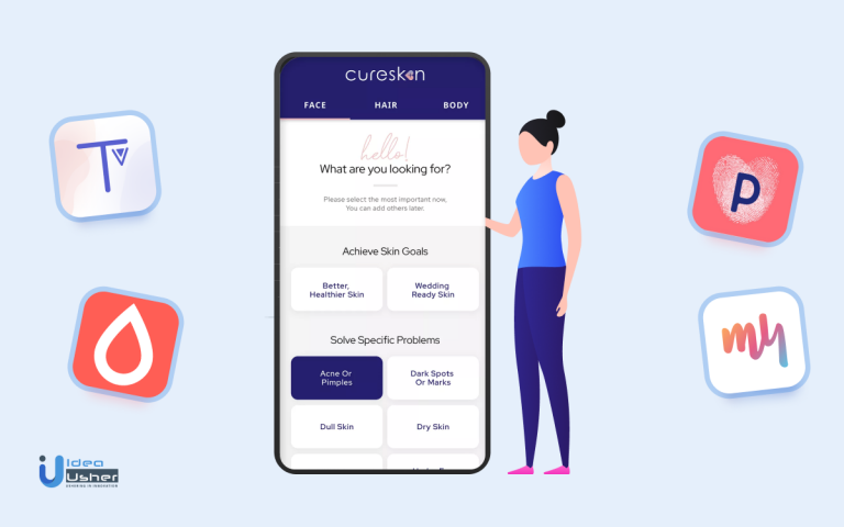 skincare app development-Idea-Usher