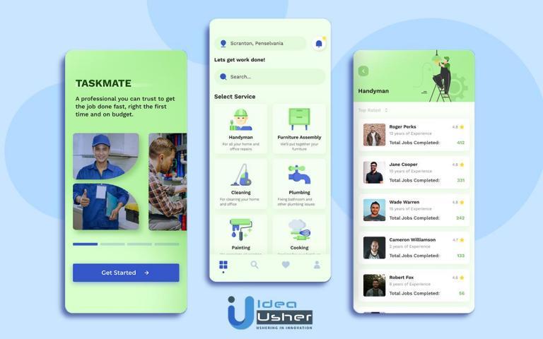 on-demand home services app development