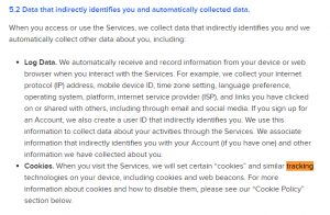 BuzzFeed app Privacy policy