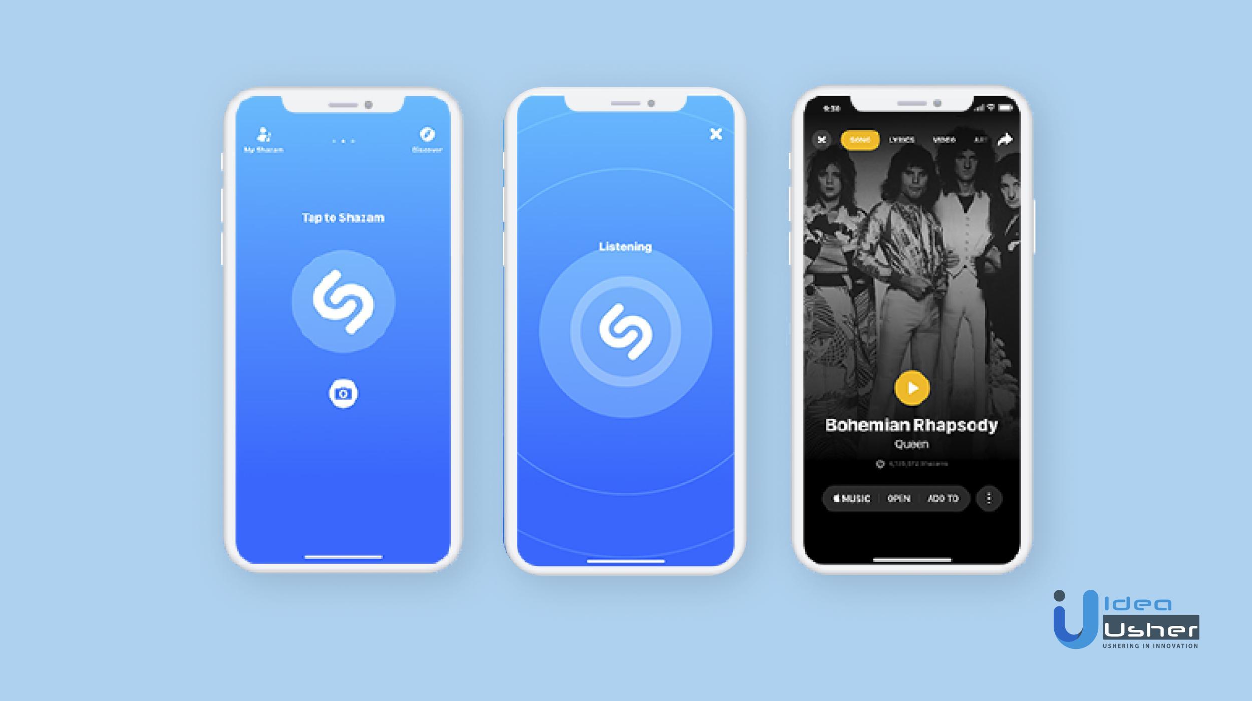 how to build an app like Shazam