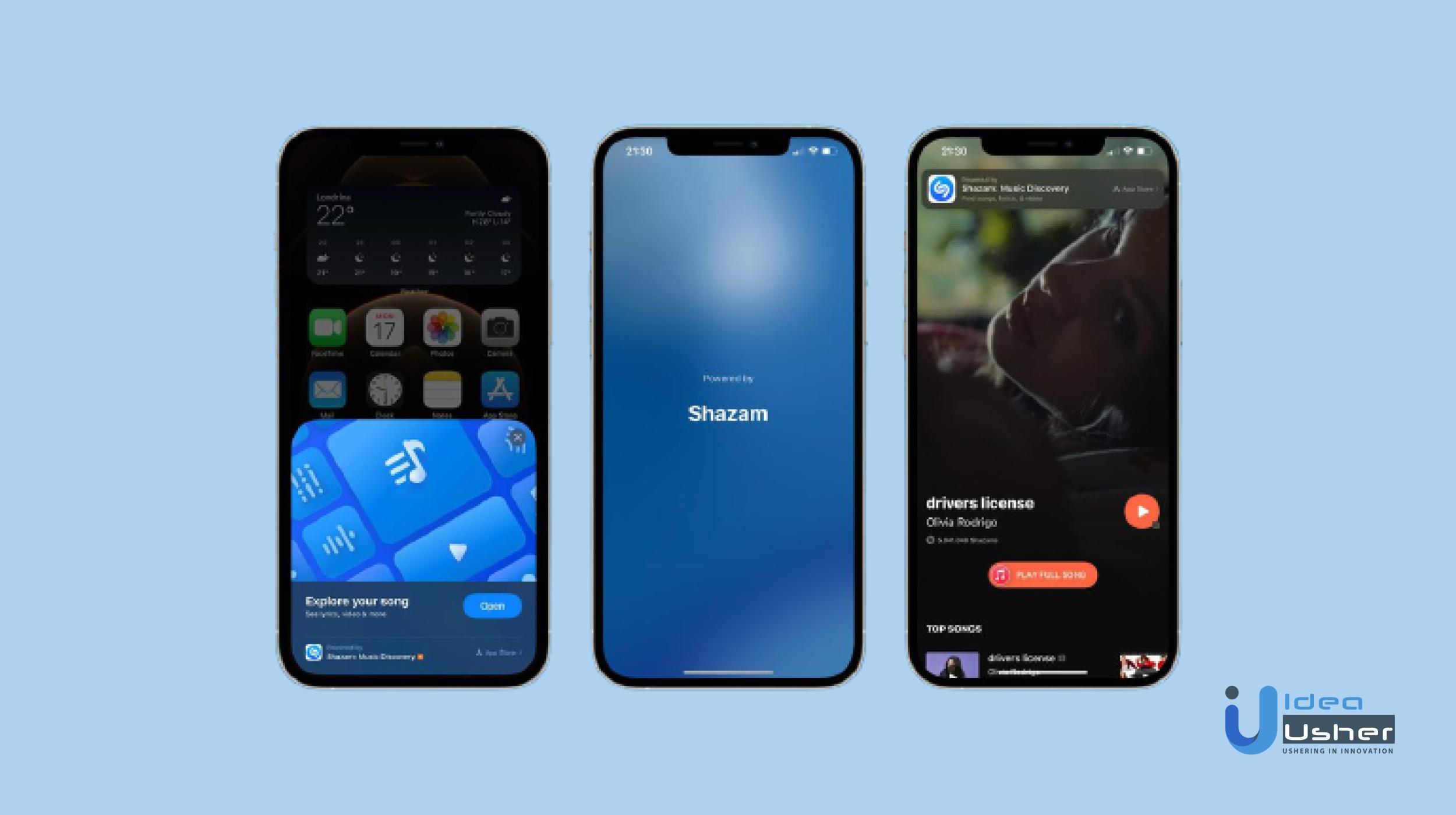 how to create an app like Shazam