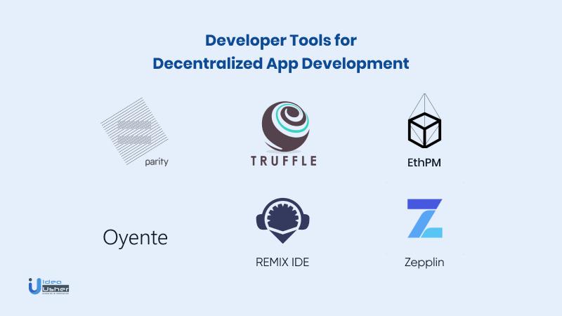 Developer tools for decentralized app development