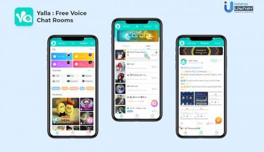 Chat room app development like Yalla