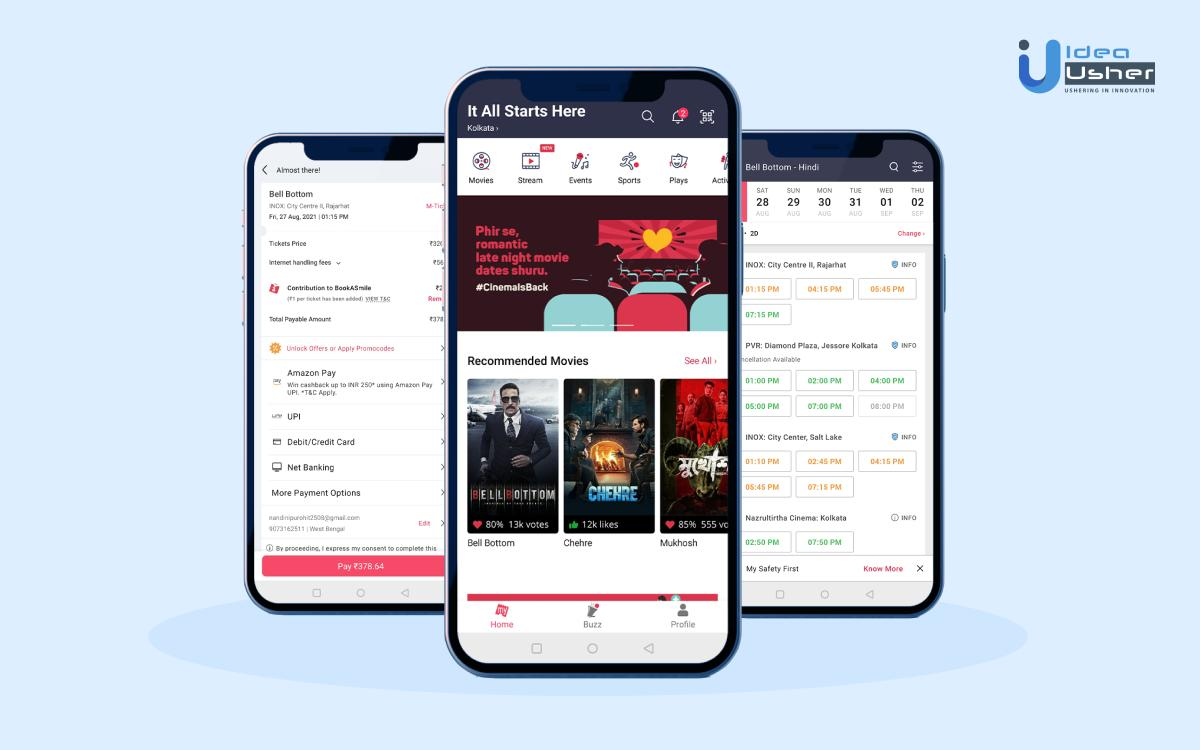 Online Event Booking Apps like BookMyShow