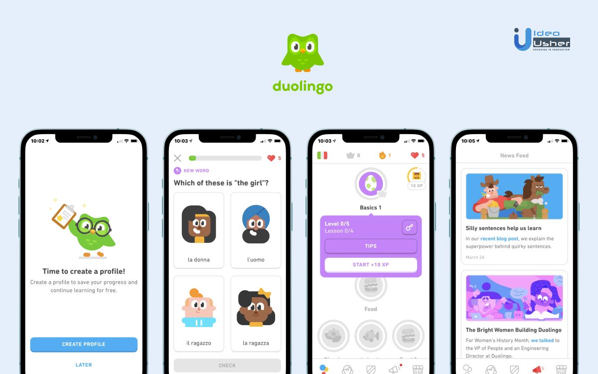 Language Learning Duolingo