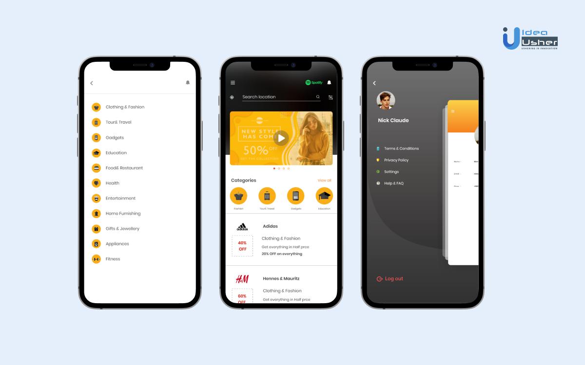 Coupon app development process