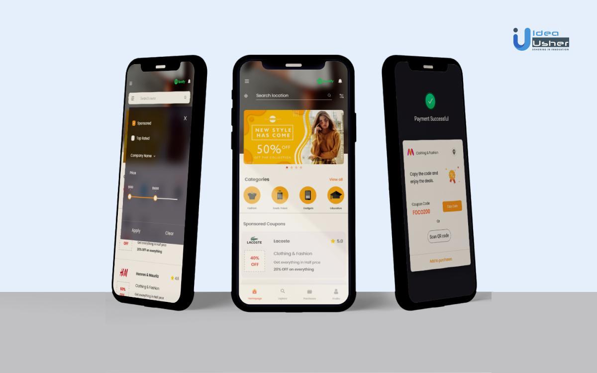 Coupon app development