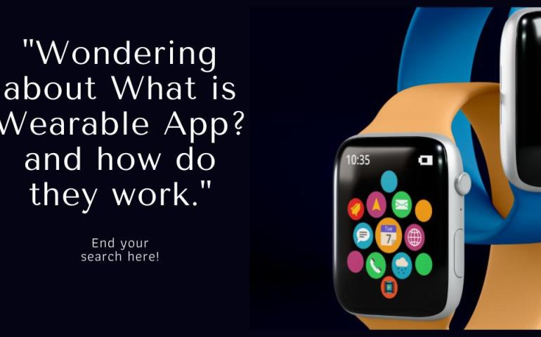how wearable apps work